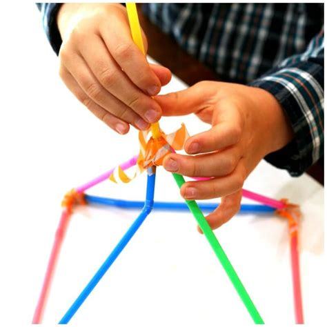 straw tower challenge building with straws simple engineering challenge for