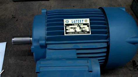 lafert lmr 100lc4 2 1 2 hp single phase motor cap start