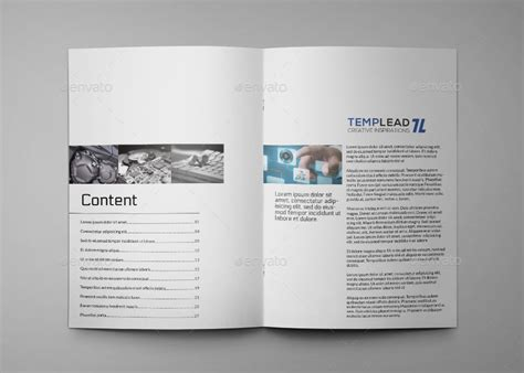 Hi Tech Products A4 Indesign Catalog Template By Annozio Graphicriver Indesign Catalog Templates