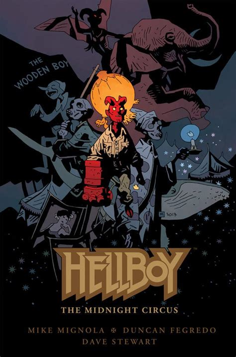 Calendrier Gn Hellboy The Midnight Circus 2013 Gn Hellboy The