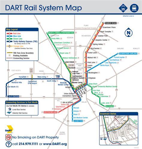 dart map dallas area rapid transit plan more light rail services global rail news