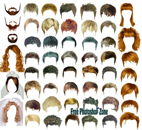 Hair Template hair styles psd template free photoshop zone