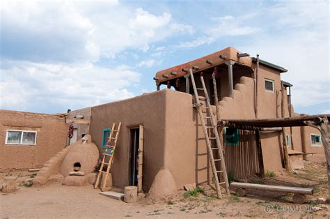 what is an adobe house taos pueblo and a thousand year old adobe architecture