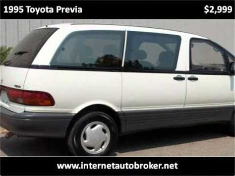 how to sell used cars 1995 toyota previa spare parts catalogs 1995 toyota previa used cars longmont co youtube