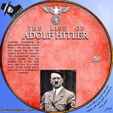 hitler biography dvd covers box sk the life of adolf hitler 1961 high