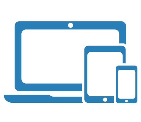 computer tablet mobile 15 mobile tablet icons blue images mobile phone and