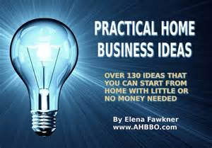 Home Business Ideas Unique Profitable Small And Home Business Ideas From Ahbbo