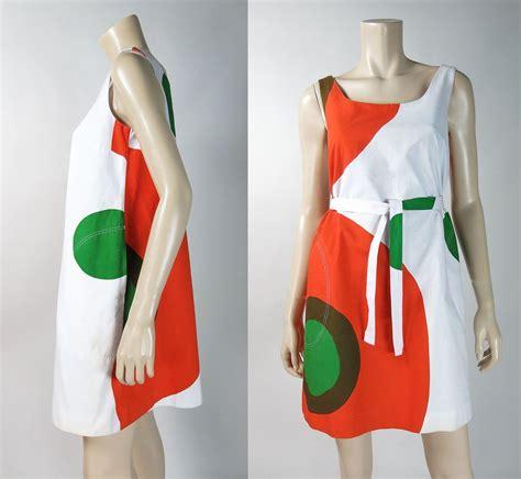 design research dress vintage 1967 marimekko trapeze dress with design research