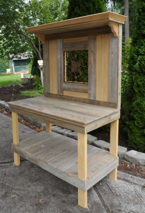 corner potting bench 586 best images about potting benches on pinterest