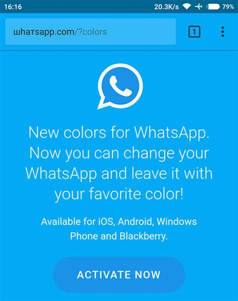 whatsapp color whatsapp warning why you should not use this new