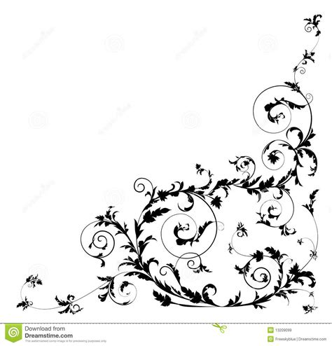 drawing vines pattern flower and vines pattern royalty free stock images image