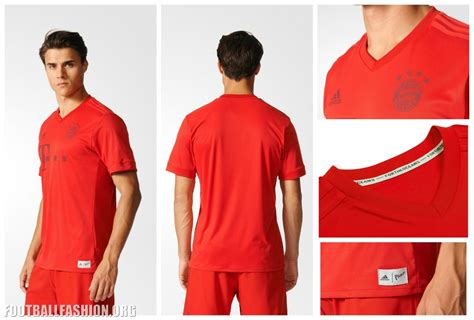 Bayern Munchen Home Jersey 2016 2017 Parley fc bayern munich adidas x parley plastic 2016 17 kit