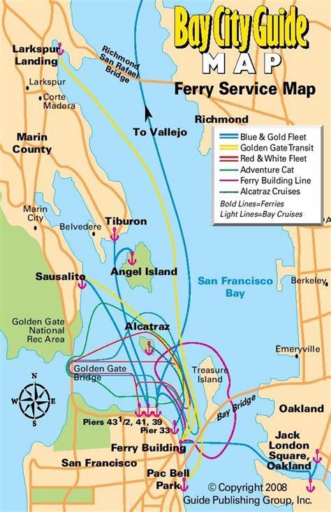 san francisco ferry map san francisco ferry map