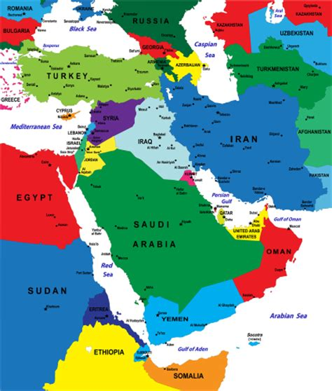middle east economic map crisis could inflate prices for countless