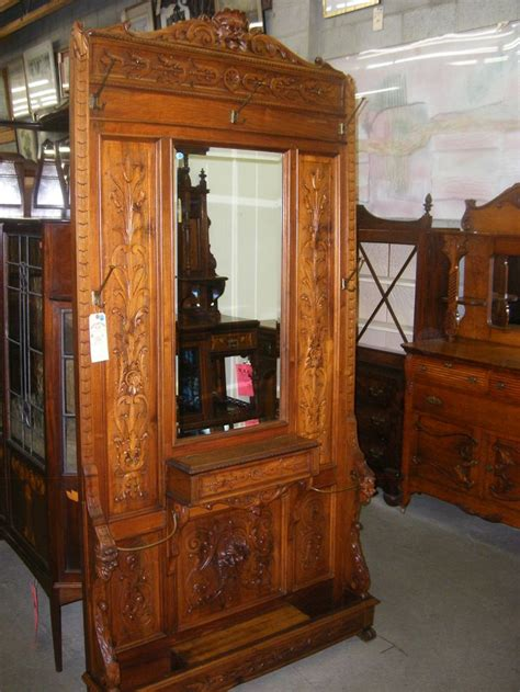hall tree bench antique 17 best images about antique hall trees on pinterest