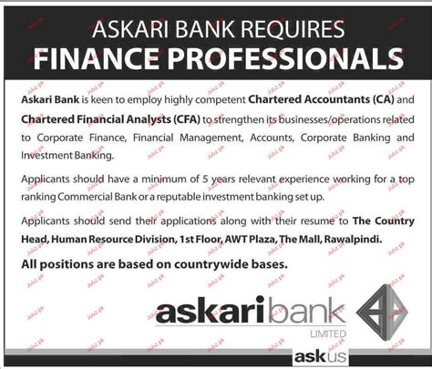 Online Resume Submit For Jobs by Chartered Financial Analyst Job Opportunity 2017 2018 Jobs