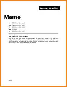 7 memo format sample protect letters
