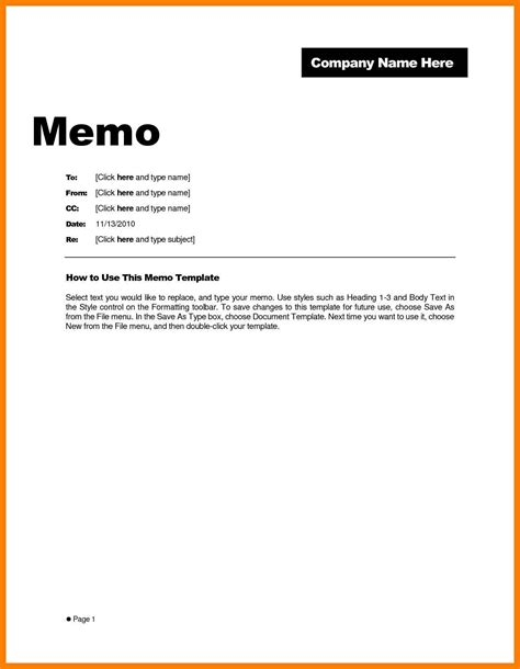 Memo Document Template Word 7 Memo Format Sle Protect Letters