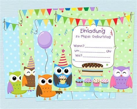 Karten Einladung by Einladungskarten Kindergeburtstag Einladung Zum Paradies