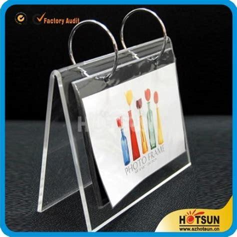 acrylic desk calendar acrylic desk calendar stand and calendar holder hs 006