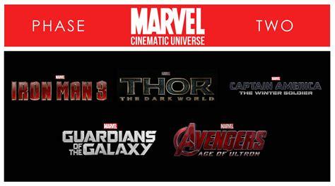 film marvel fase 1 marvel cinematic universe phase ii box blu ray filmhoek nl