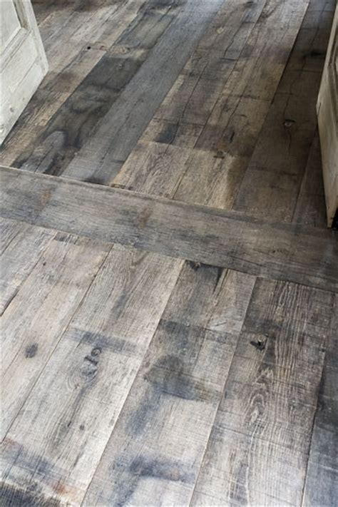 Gray Wood Floors by Nothing Beats Grey Weathered Aged Wide Plank Floors