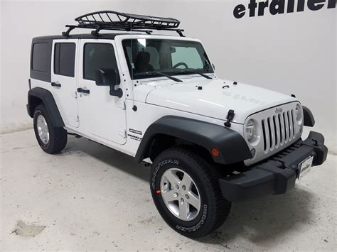 Cargo Carrier Jeep Wrangler 2016 Jeep Wrangler Unlimited Thule Roof Cargo