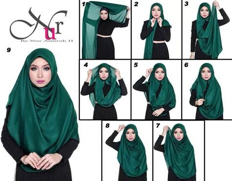 tutorial hijab bawal simple 161 best images about hijab tutorial on pinterest muslim