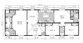 4 bedroom double wide floor plans