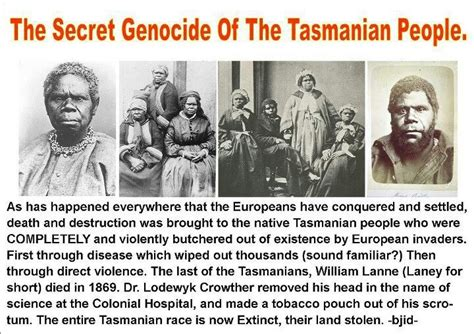 australian gypsies their secret history books the secret genocide of the tasmanian genocide