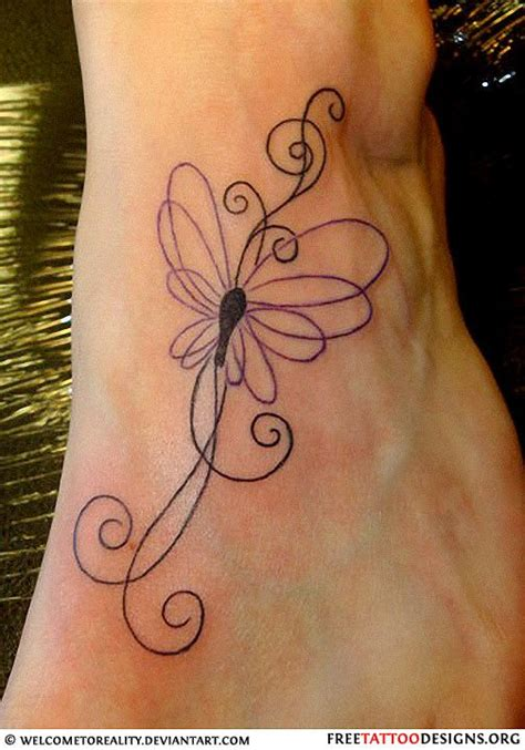 easy tattoo butterfly very dainty foot tattoo tattoos pinterest tattoo