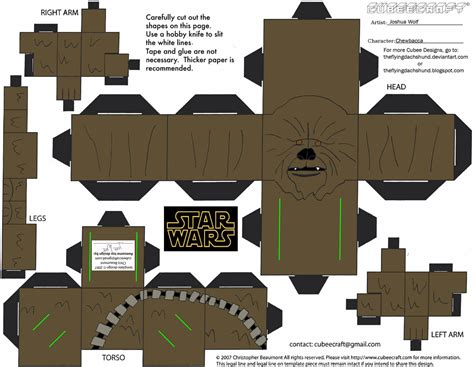 paper crafting websites chewbacca papercraft free printable papercraft templates