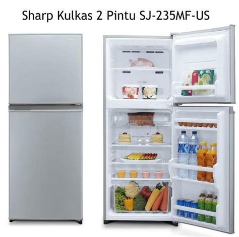 Kulkas Sharp Lemon Series daftar harga kulkas sharp terbaru april 2018