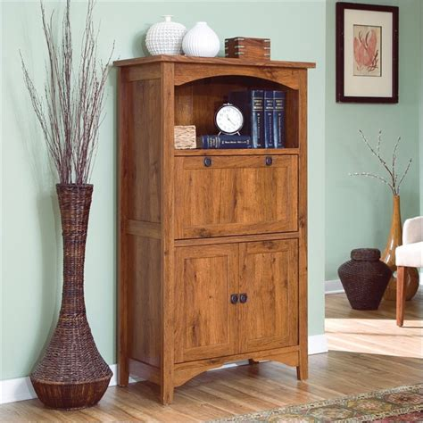 computer armoire oak sauder rose valley laptop abbey oak computer armoire ebay