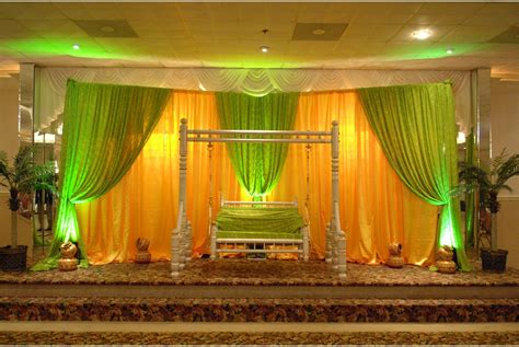 Home Wedding Decor indian wedding decorations ideas the home design guide