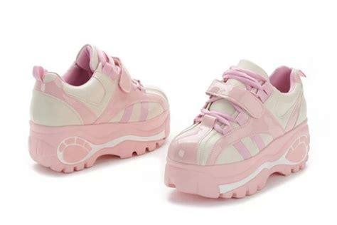 Harajuku Shoe shoes dejavu cat pink sneakers platform shoes platform