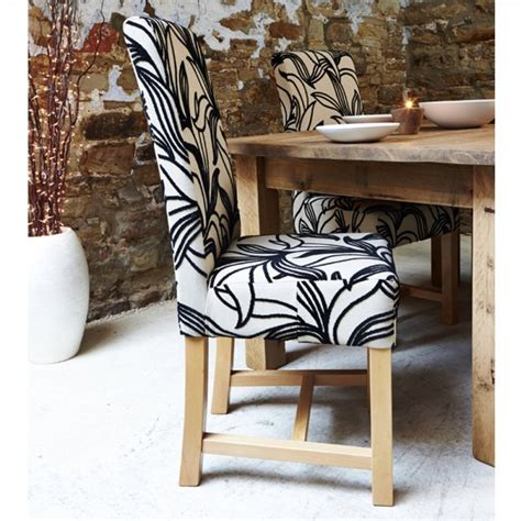 Fabric Dining Chairs Sale Buy Harlequin Fabric Dining Set Four Chair Set Dining Room Chairs