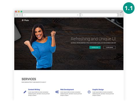 design html bootstrap 100 best free html5 website templates and themes