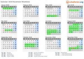 Kalender 2018 Ferien Und Feiertage Kalender 2018 Ferien Nordrhein Westfalen Feiertage