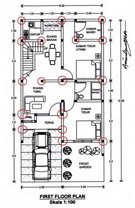 layout rumah type 36 72 desain renovasi rumah type 36 pt architectaria media cipta