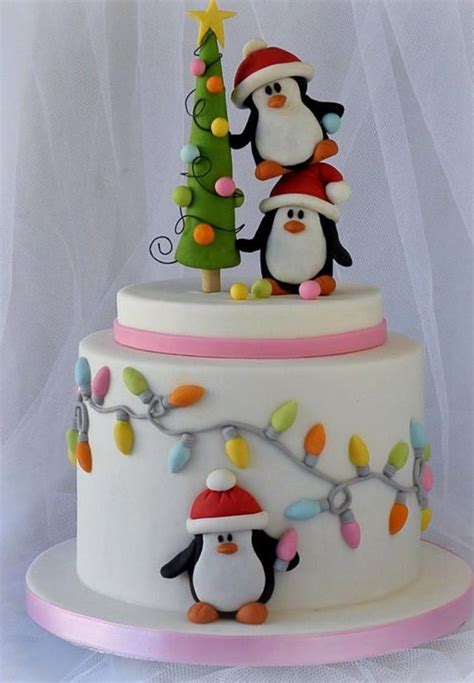 easy christmas cake decorating ideas 60 easy cake decoration ideas