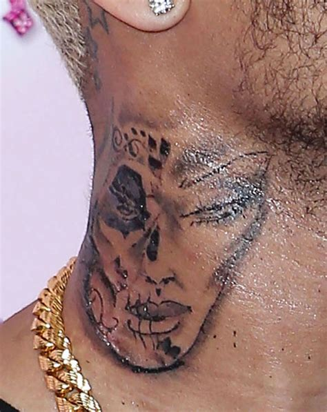 neck tattoo why tattoo fixers sketch wants to get his hands on chris