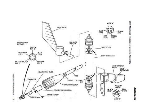 wind vane diagram raymarine st60 wind vane replacement wiring diagrams