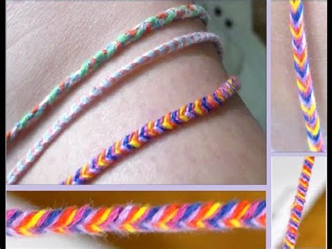DIY: Fishtail Braided Bracelet/Anklet   YouTube