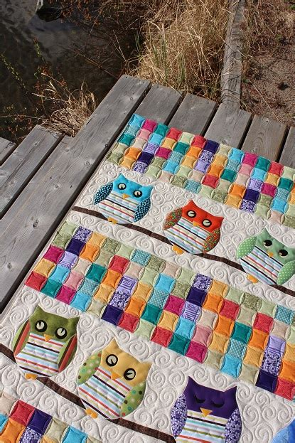 Jelly Babies Quilt Book by Tamarack Shack Whoo S Your Baby Quilt