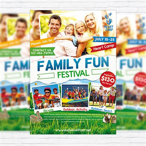 family day flyer template family day premium psd flyer template exclsiveflyer free and premium psd templates