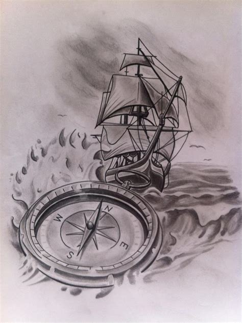 rough seas drawing by josh tremblay