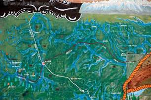 oregon ghost towns map ghosttown map mural 2