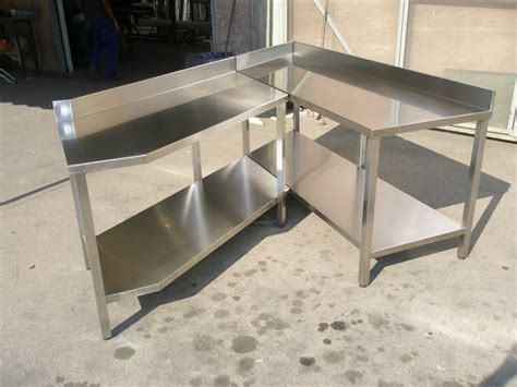 tavoli in acciaio inox per ristorante usati tavoli armadi pensili in acciaio inox etnainox srl