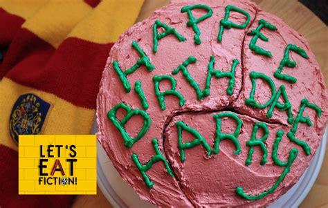 Hagrid s birthday cake harry potter let s eat fiction youtube